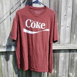 Men's Coca-Cola Vintage Graphic Tee